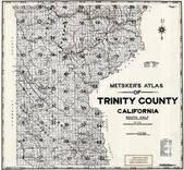 Title Page - Index Map 1, Trinity County 1955